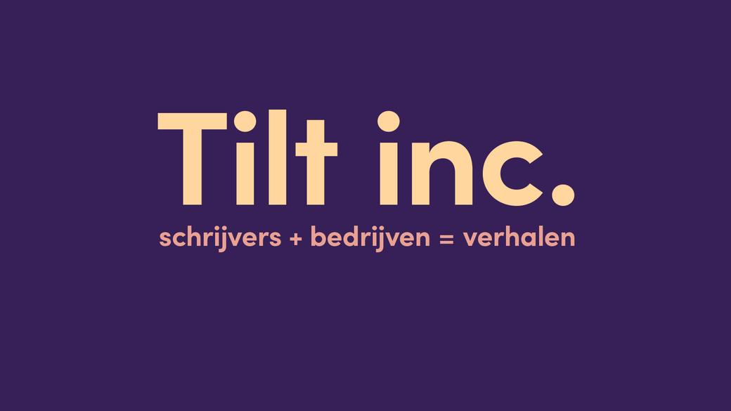 Tilt Inc slide titel